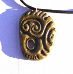 Knowth mace-head celtic pendant